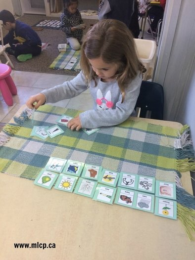 Montessori Language Materials